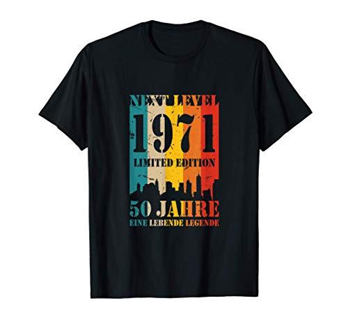 50 Jahre Geburtstag 1971 Next Level Lebende Legende T-Shirt T-Shirt