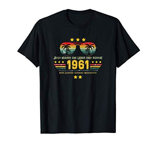 60. Geburtstag 60 Jahre Geburtstag Outfit 1961 T-Shirt T-Shirt
